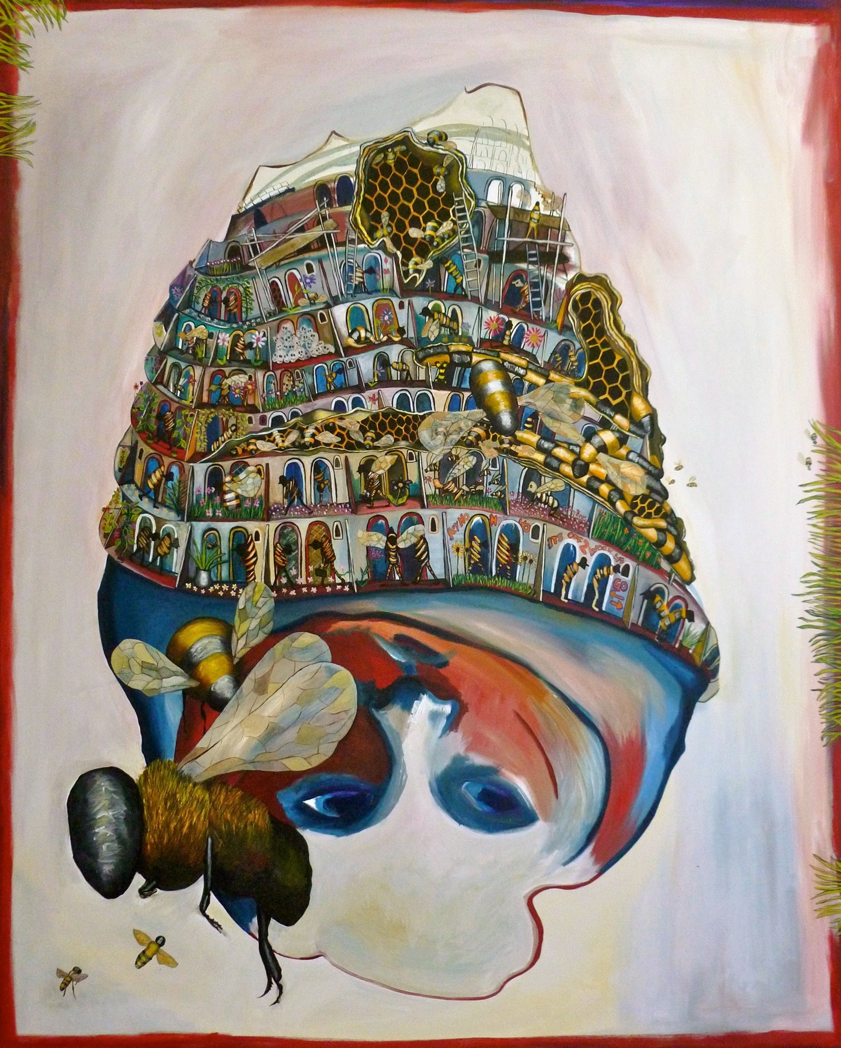 HEY HO - 152CM X 122CM - OIL ON CANVAS - 2011